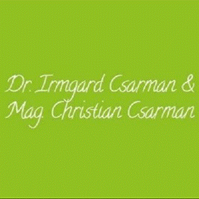 Dr. Irmgard Csarman u. Mag Christian Csarman