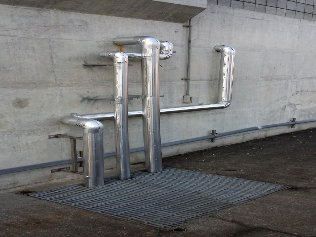 Tasman Industries Ltd in Aldergrove: Pipe insulation and aluminum cladding