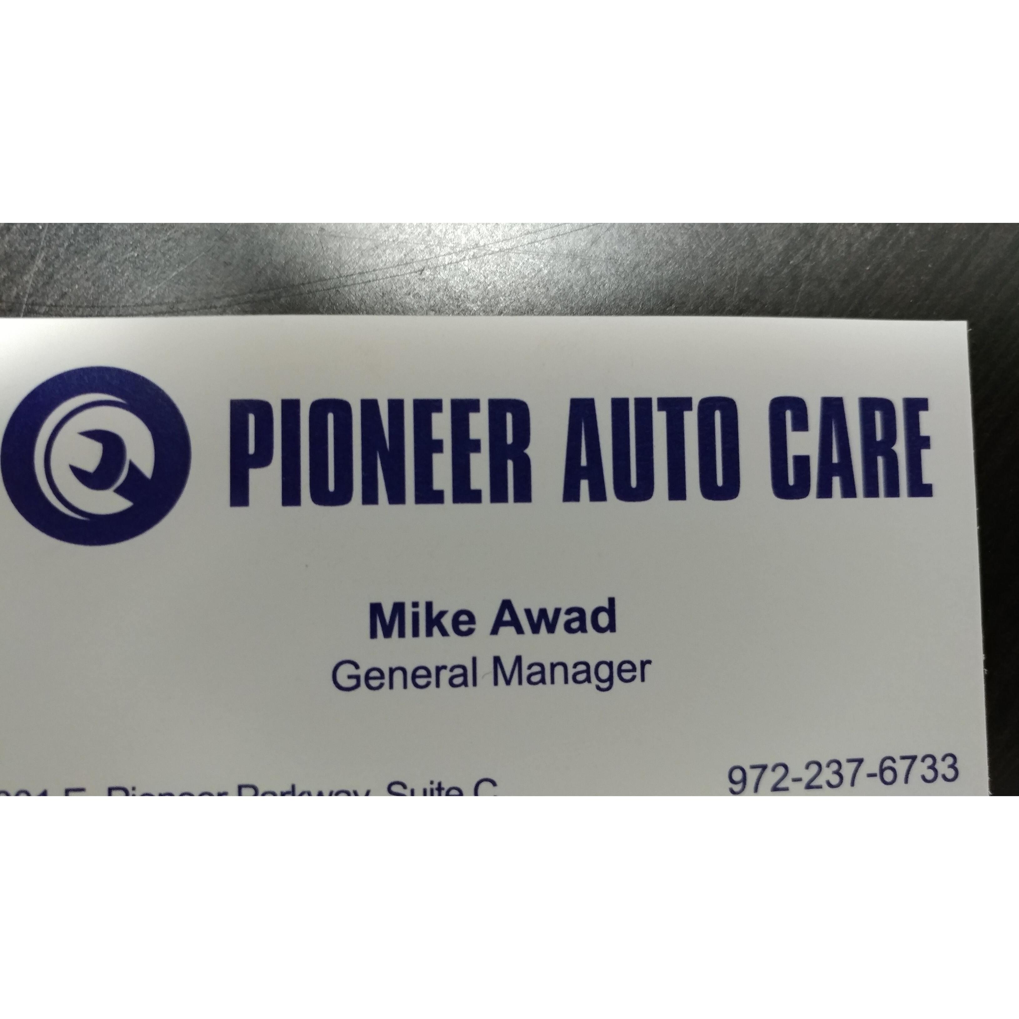 Pioneer Auto Care