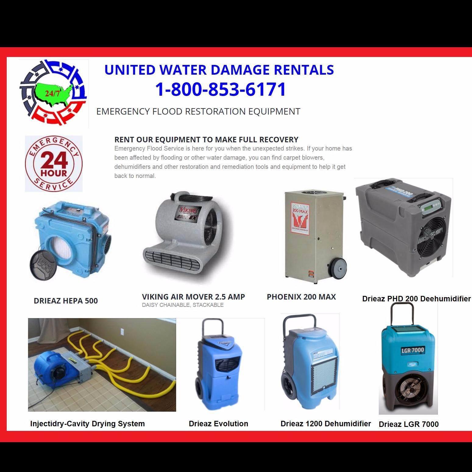 United Water Damage Rentals