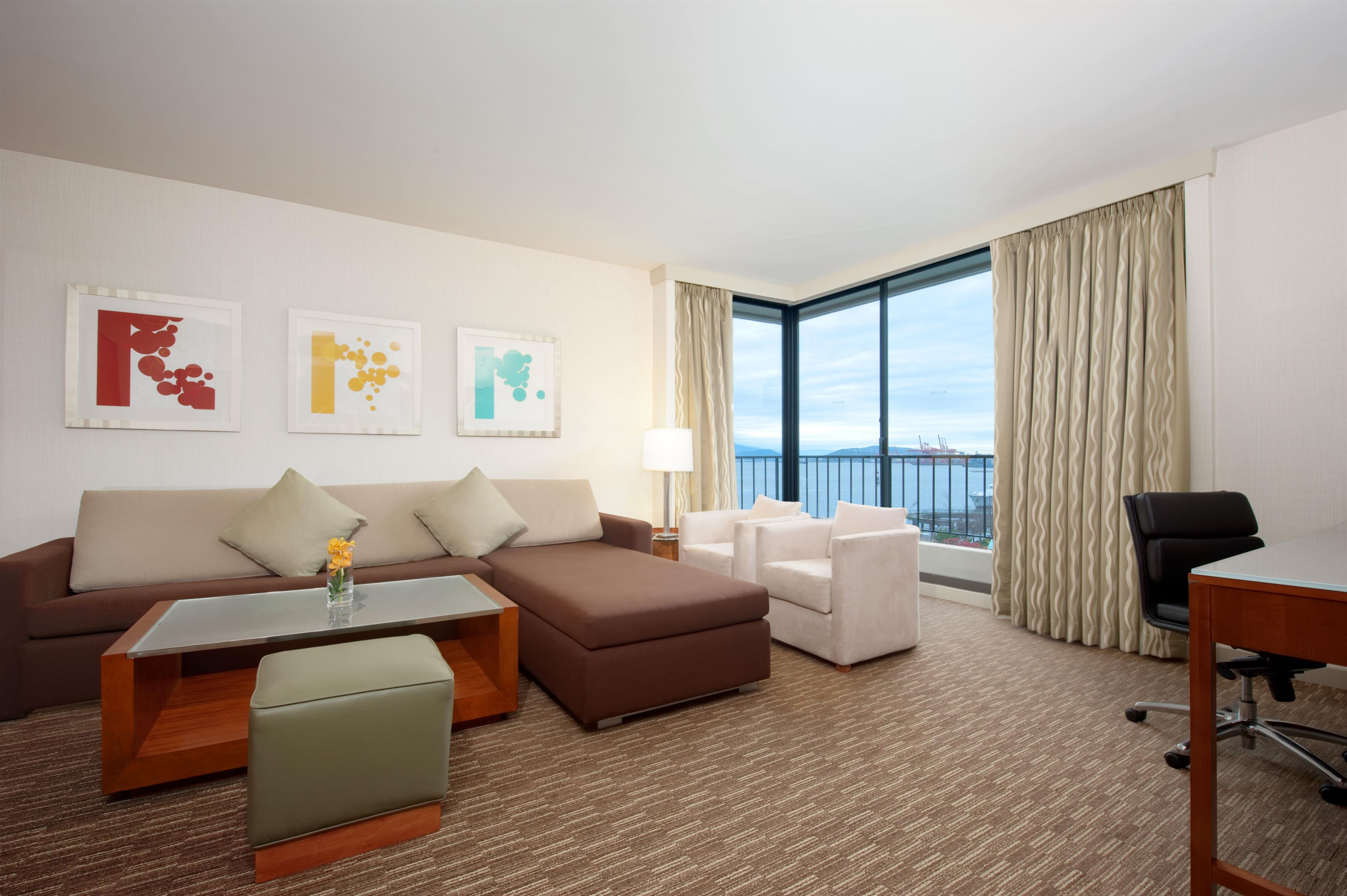 The Westin Bayshore, Vancouver in Vancouver: Tower Suite - Parlour