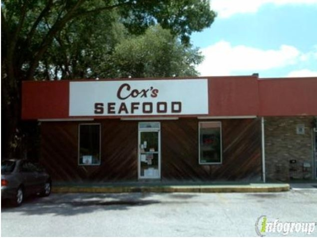 Cox 39 s seafood market tampa fl company information for Fish market tampa