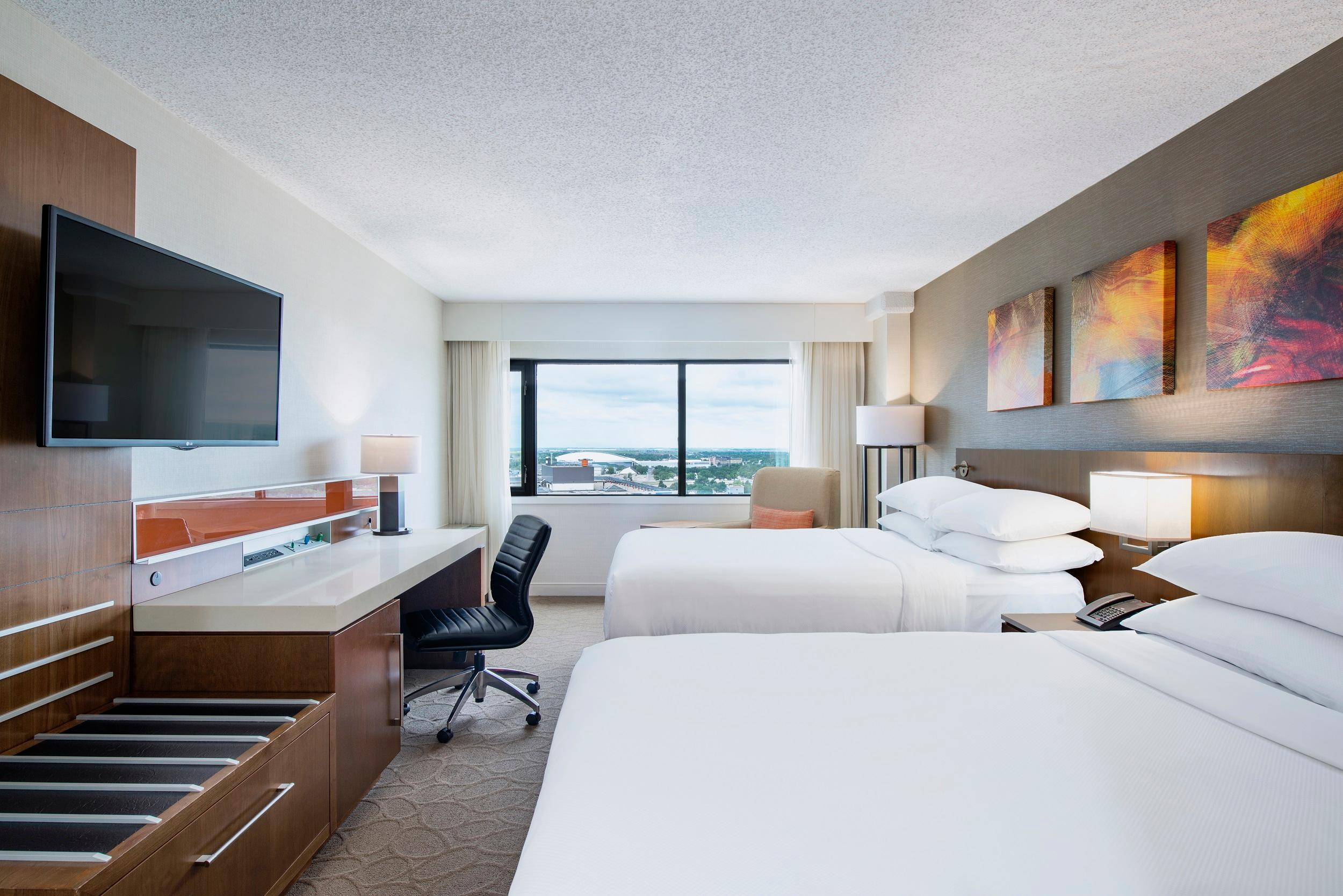 Delta Hotels by Marriott Regina in Regina: Deluxe Room- Two Double Beds