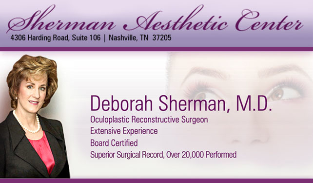 Sherman Aesthetic Center - ad image