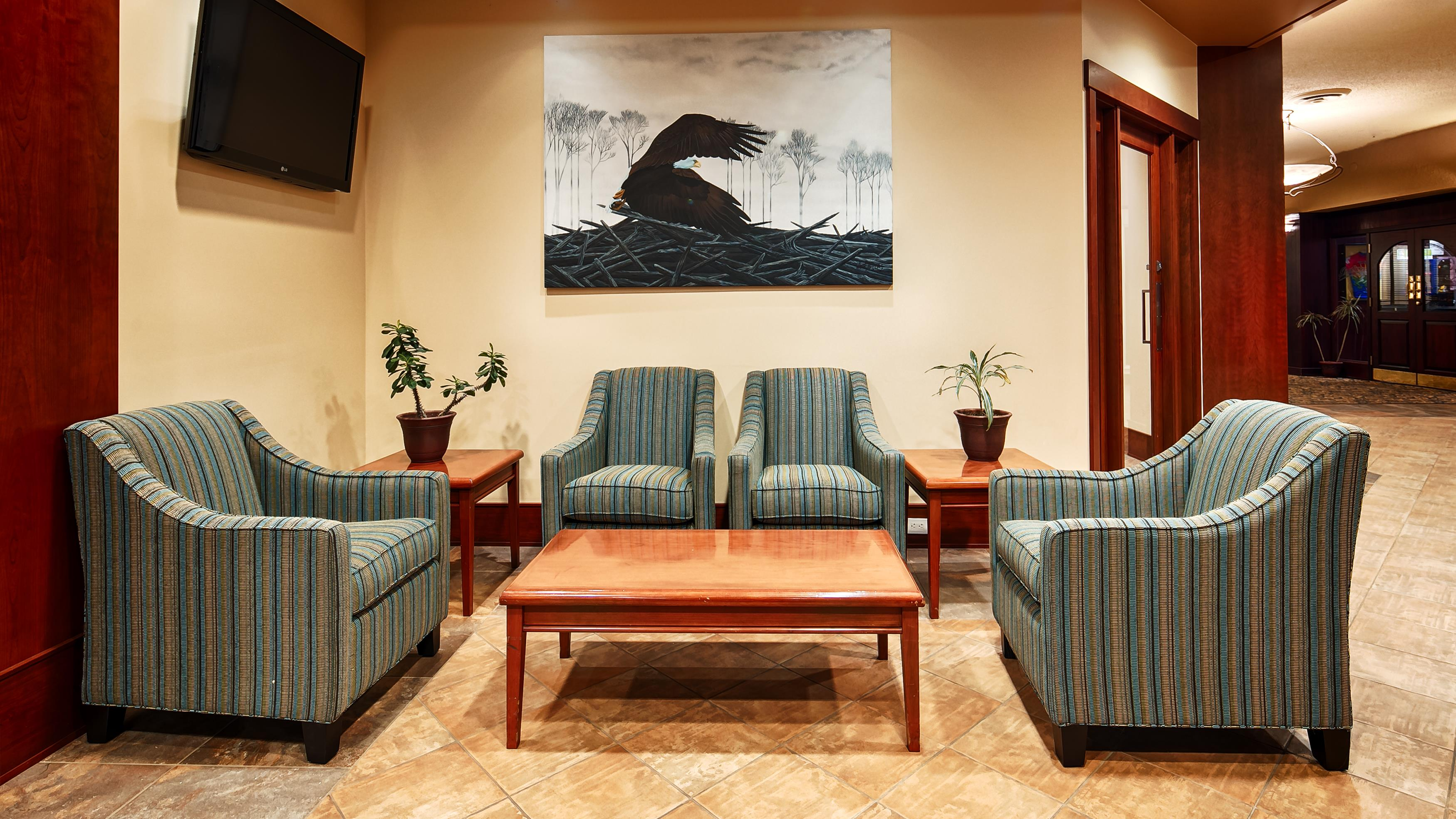 Best Western Plus Barclay Hotel in Port Alberni: Lobby