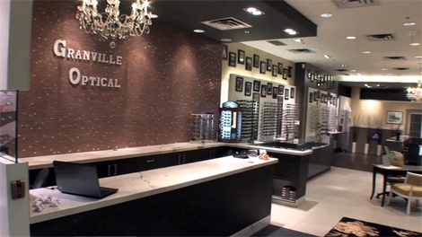 Granville Mall Optical in Vancouver