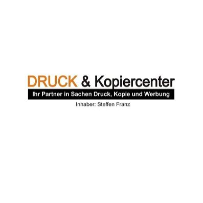 Logo von Druck & Kopiercenter, Inh. Steffen Franz