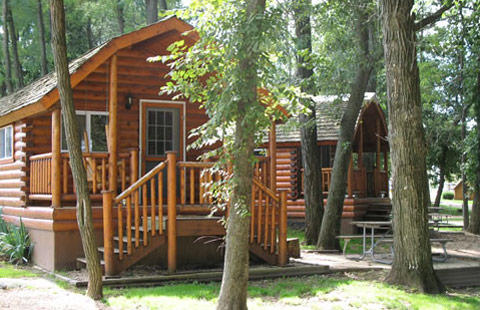Relax in one of our Deluxe Kamping Kottages