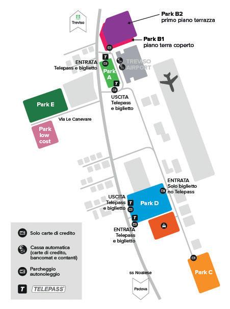 Union Park Parcheggio Aeroporto Treviso