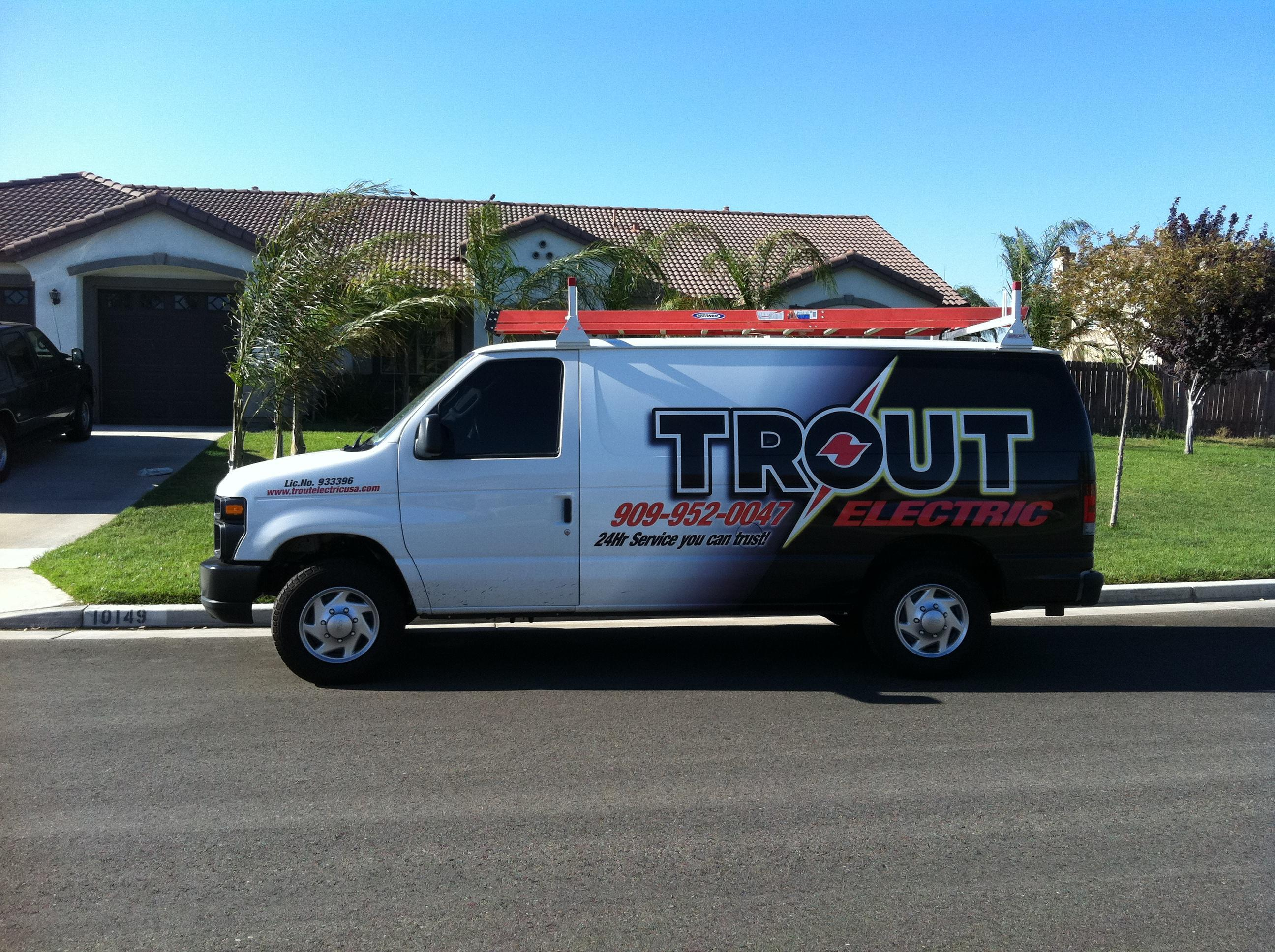 Trout Electric - ad image