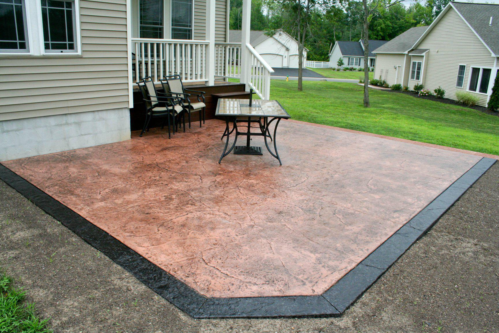 Hayes and Sons Stamped Concrete image 2