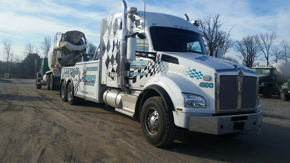 We offer a variety of towing and transport services