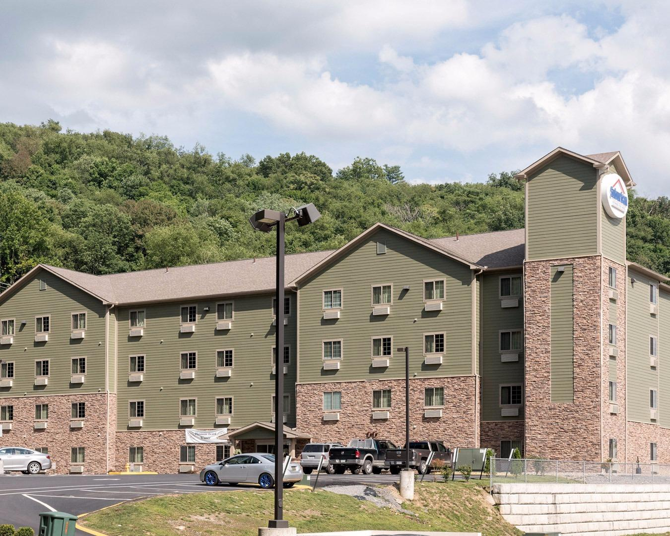 suburban extended stay hotel in morgantown wv 304 291. Black Bedroom Furniture Sets. Home Design Ideas