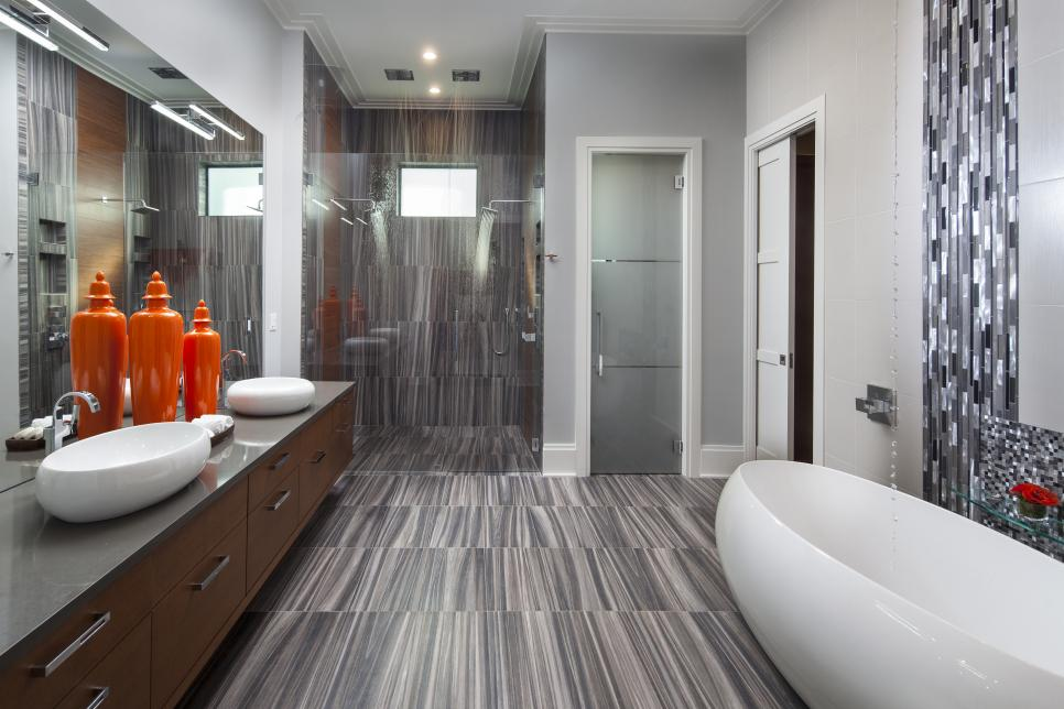 Stone and Water Bathroom Remodeling image 0