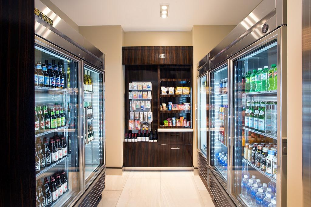 The Market - From grab-n-go drinks and snacks to adult beverages and toiletries, our Market is open 24/7 and has everything you need to make yourself comfortable.
