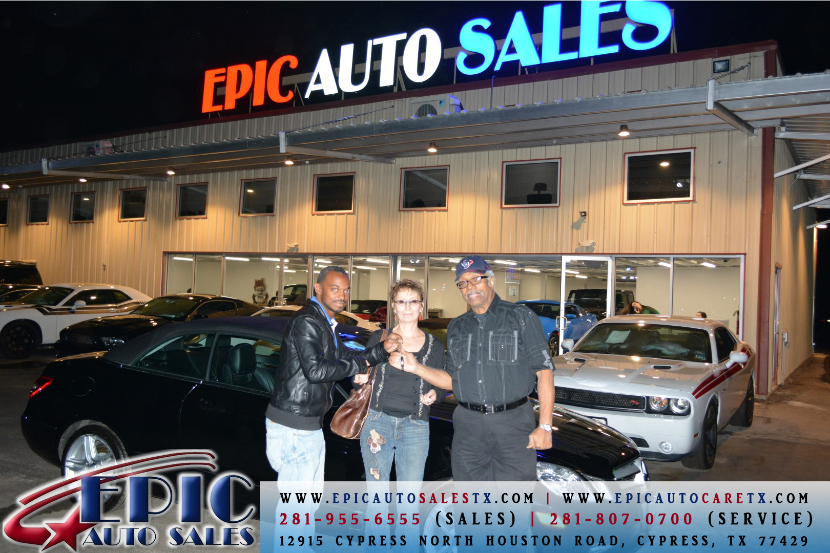 Epic Auto Sales >> Epic Auto Sales 12915 Cypress North Houston Rd Cypress Tx Auto