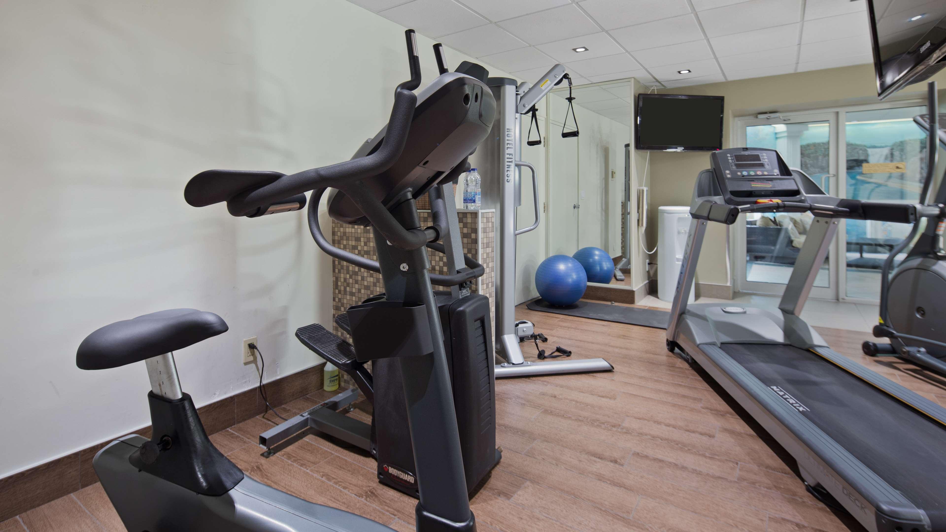 Best Western Plus City Centre/Centre-Ville à Quebec: Fitness Center