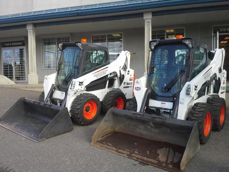 Broadway Rentals in Williams Lake: 2 Bobcats