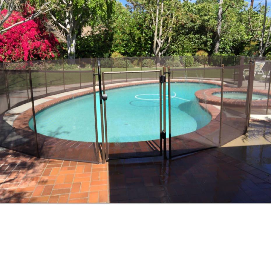 Nathans Pool Fence image 17