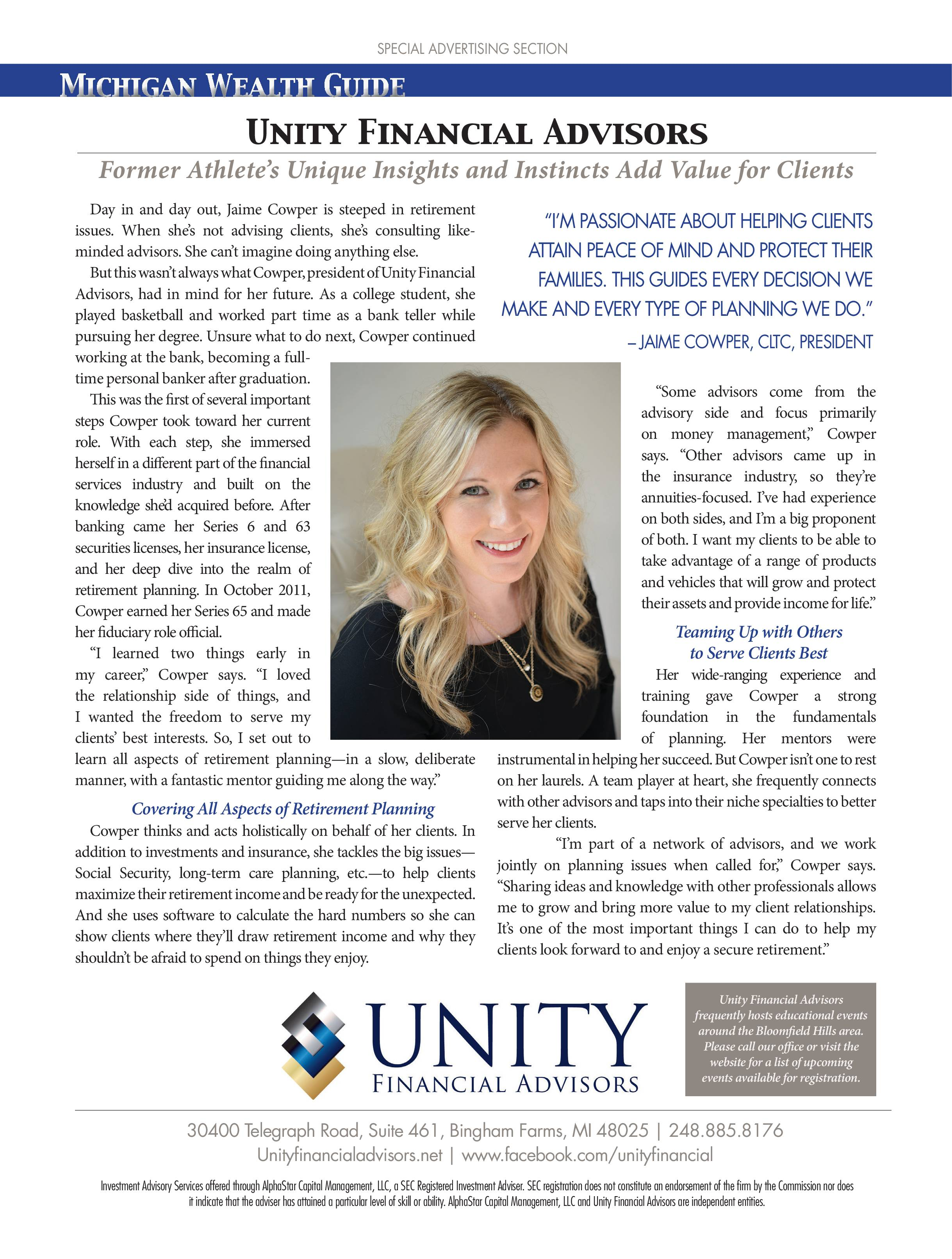 Unity Financial Advisors image 2