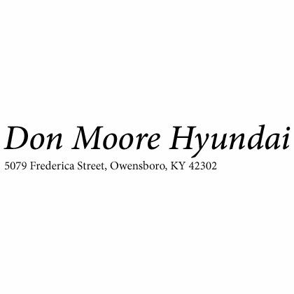 Don Moore Hyundai 5079 Frederica St Owensboro Ky Auto Dealers