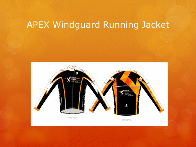 Human Performance Centre in Saint John: Are you in need of some HPC active wear? We can help!   Here is our APEX Windguard Running Jacket.