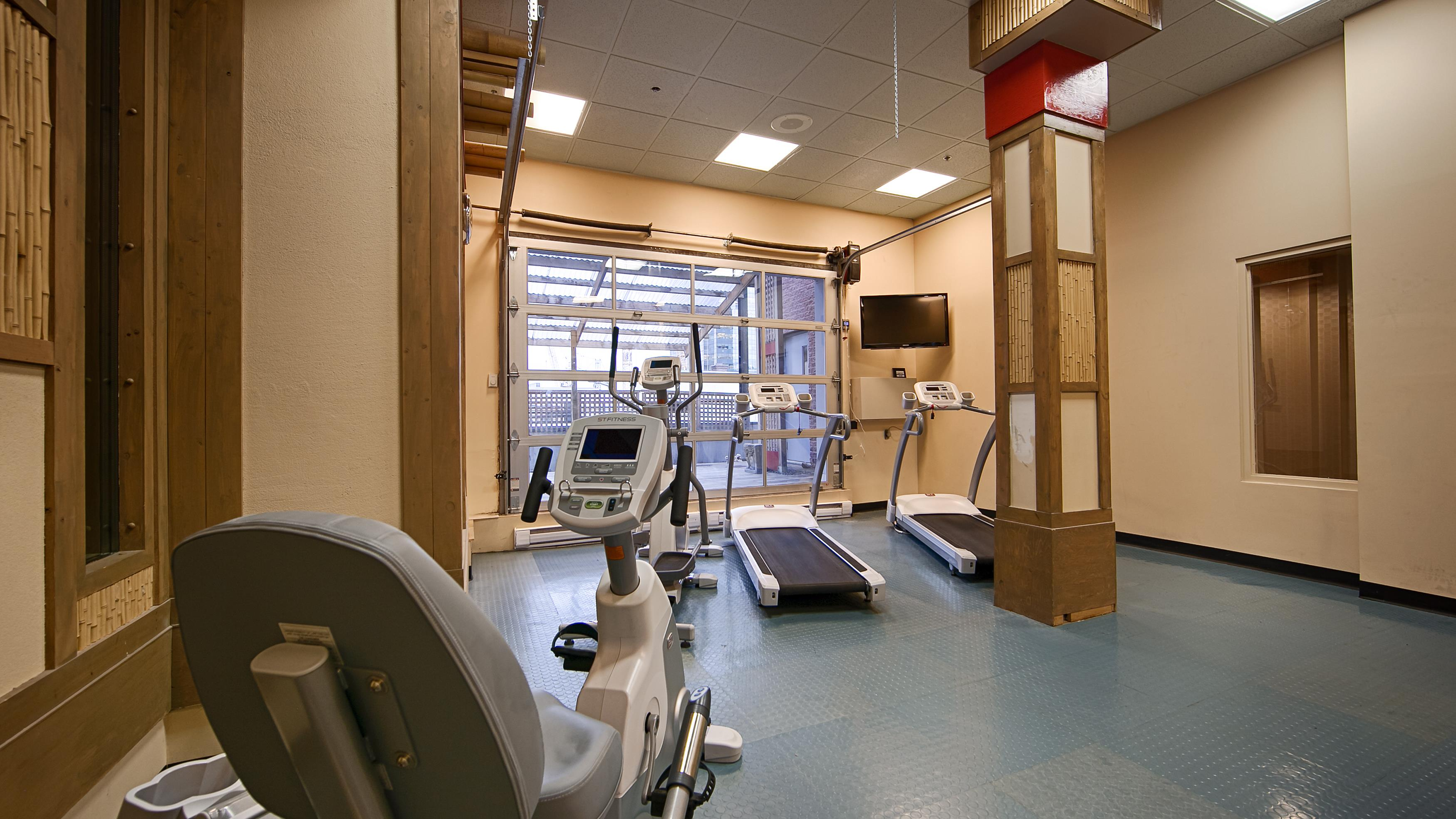 Best Western Plus Montreal Downtown-Hotel Europa à Montreal: Fitness Cemter