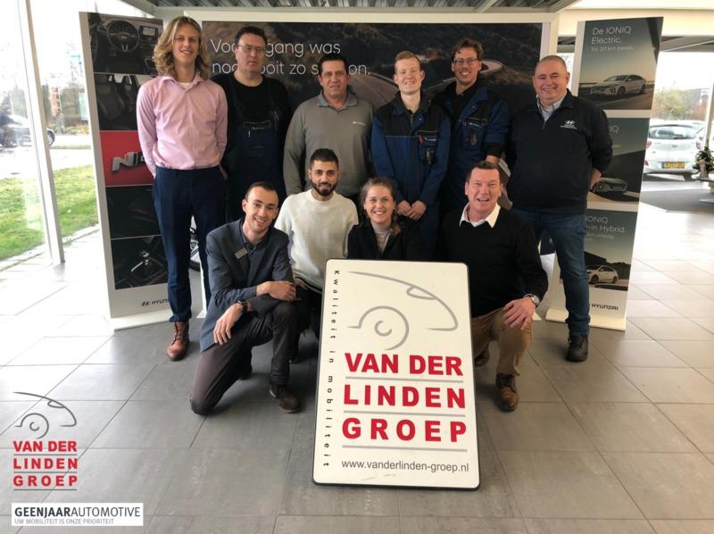 Van der Linden Groep Leiden / Geenjaar