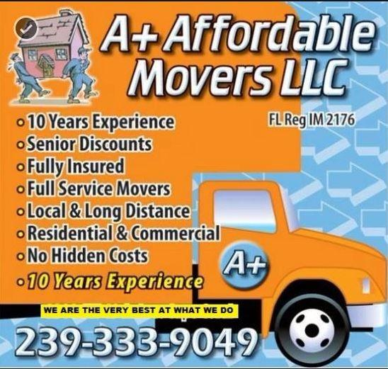 A + Affordable Movers image 0