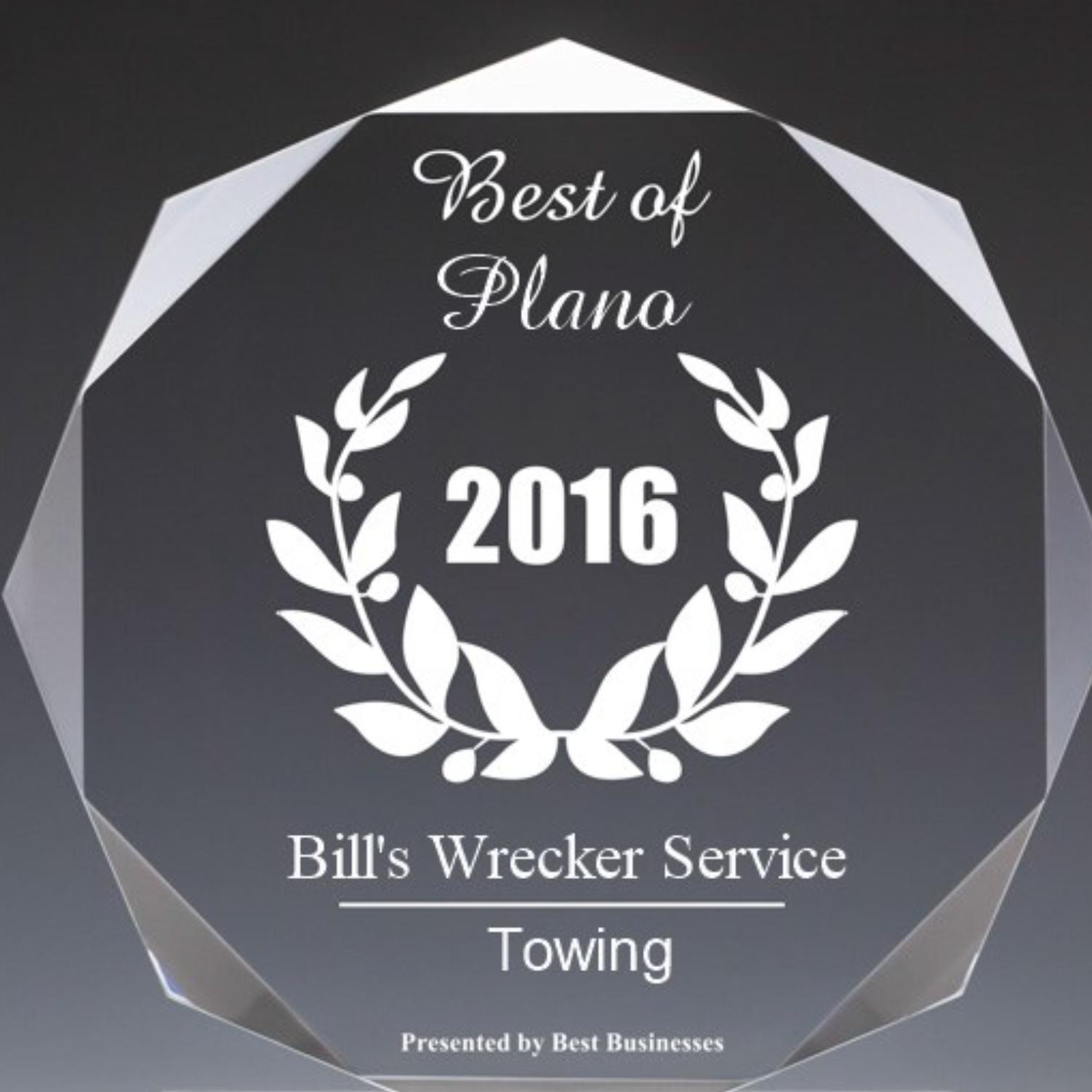 Bill's Wrecker Service