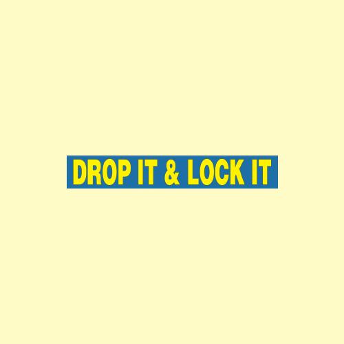 Drop It & Lock It image 0