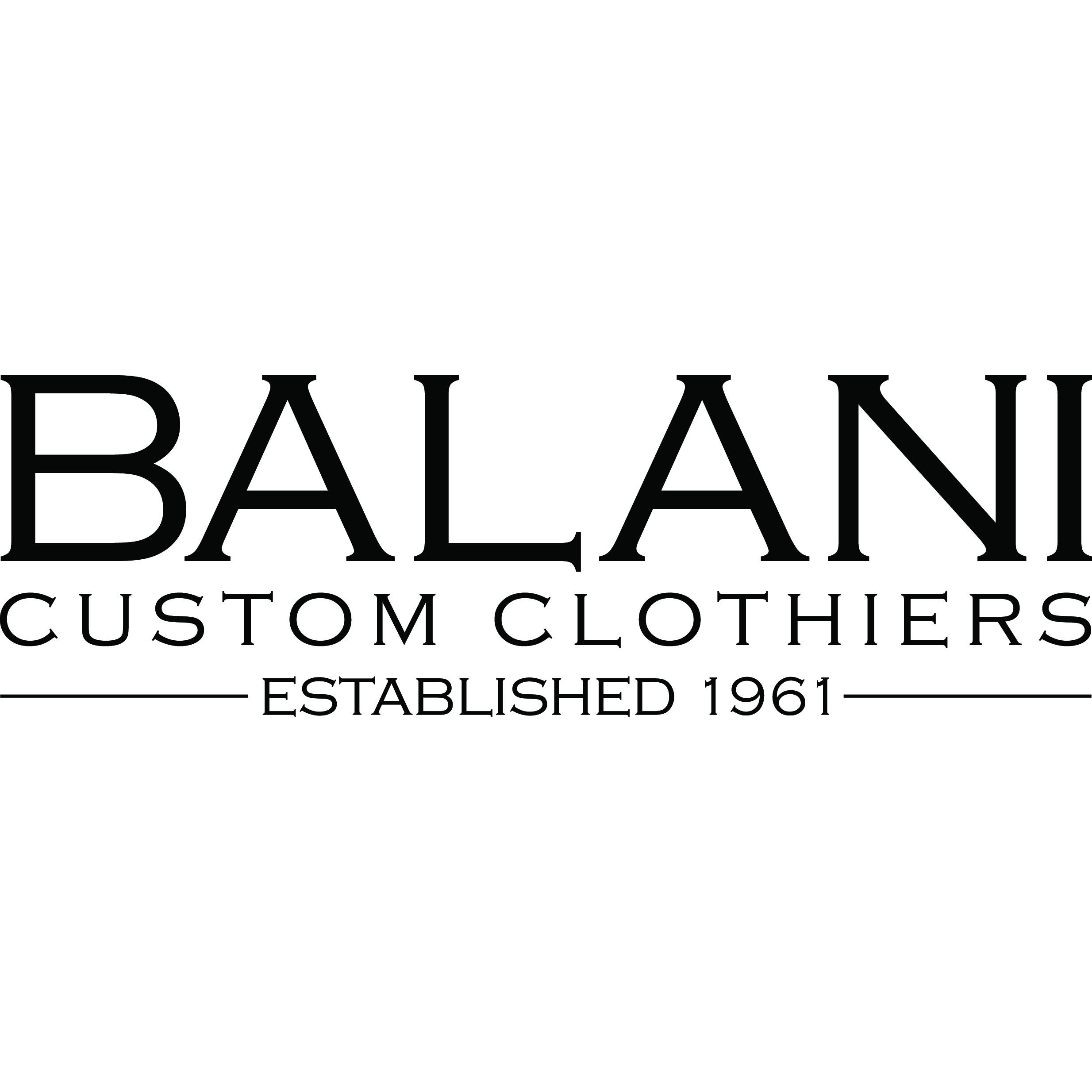 BALANI Custom Clothiers - Suits, Tuxedos, & Shirts