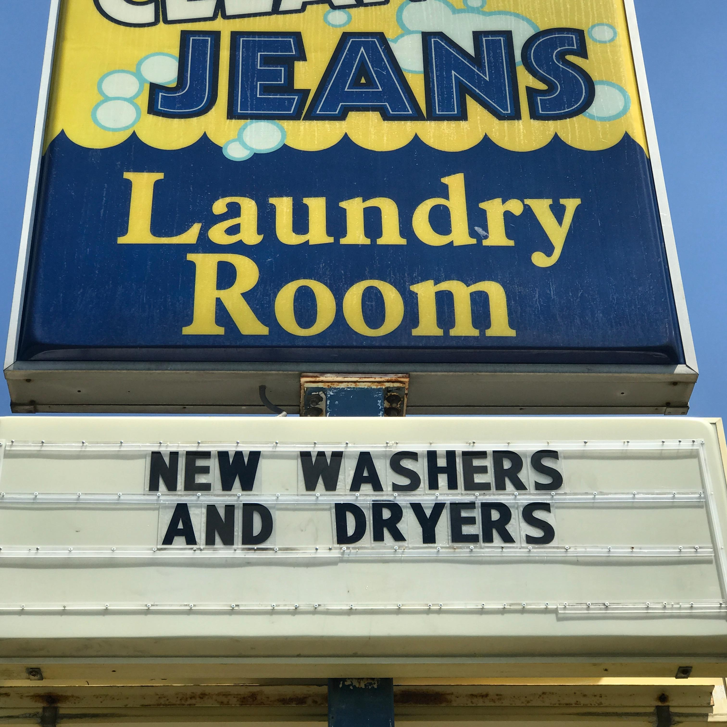 Clean Jeans Laundry Room