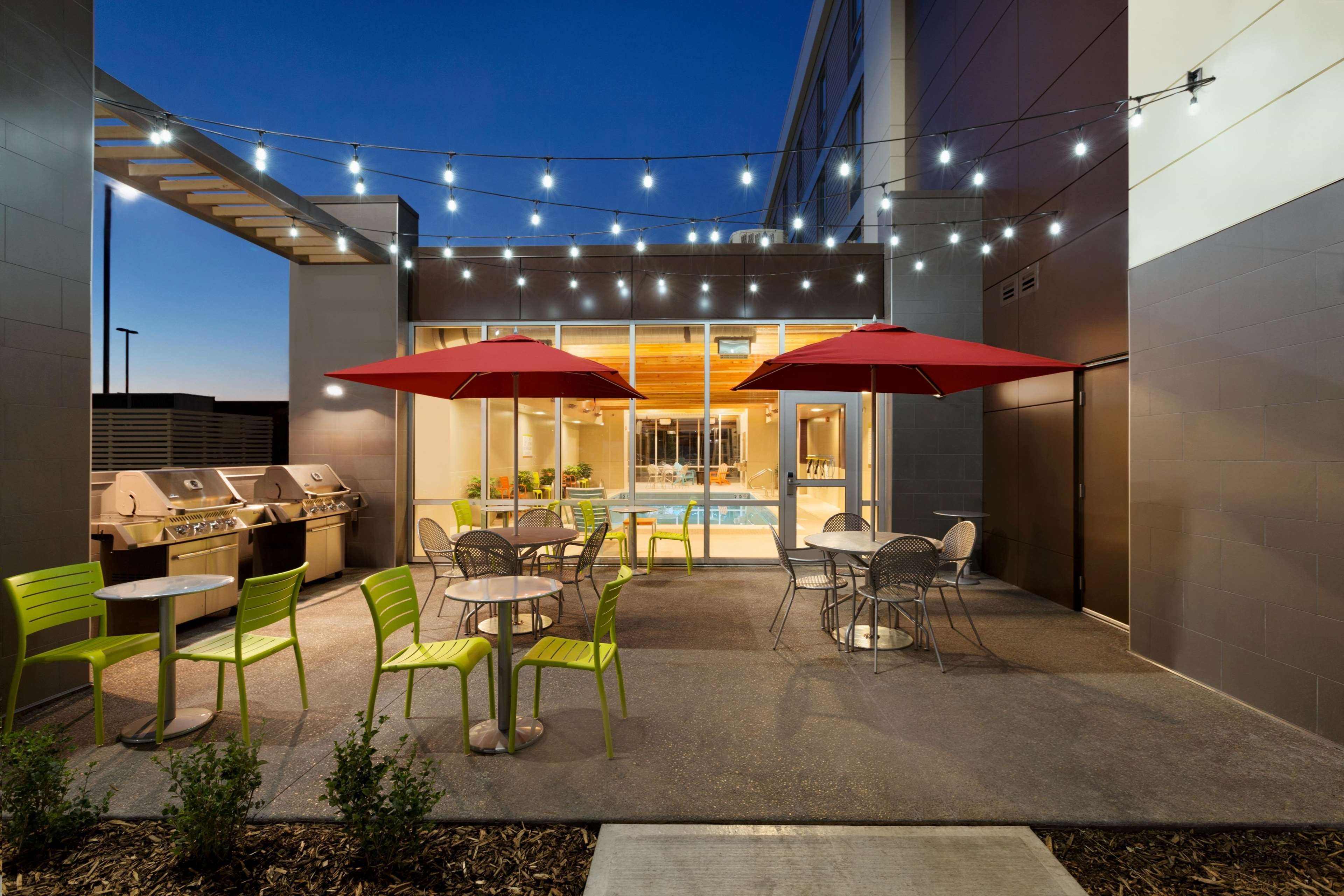 Home2 Suites by Hilton West Edmonton, Alberta, Canada in Edmonton: Patio with BBQ Grill