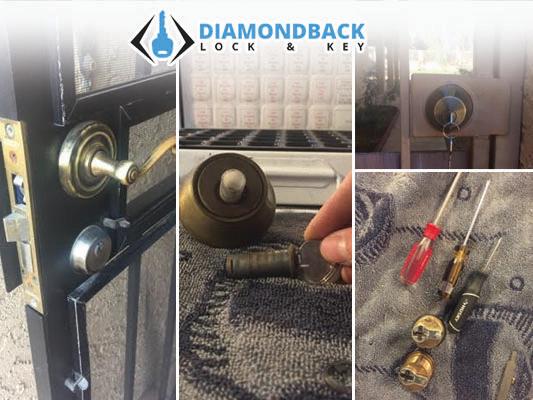 Diamondback Lock and Key image 13