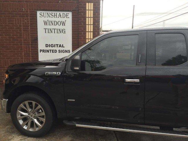 Sunshade Window Tinting