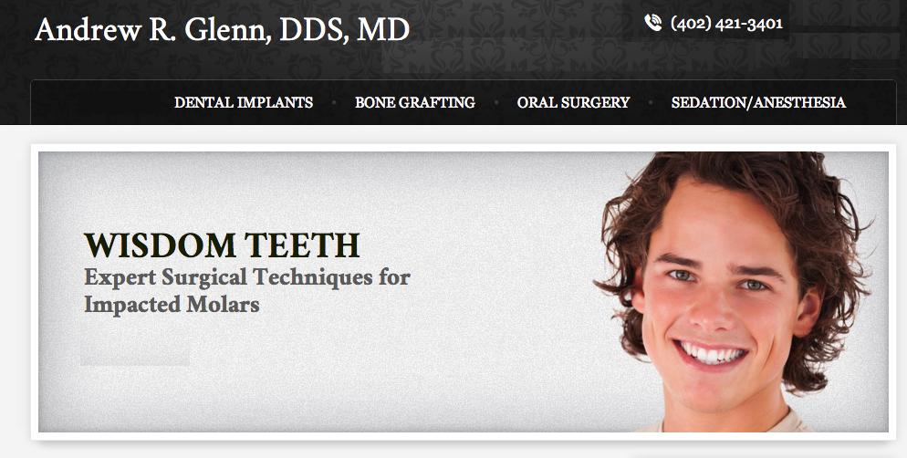 Andrew R. Glenn, DDS, MD - ad image