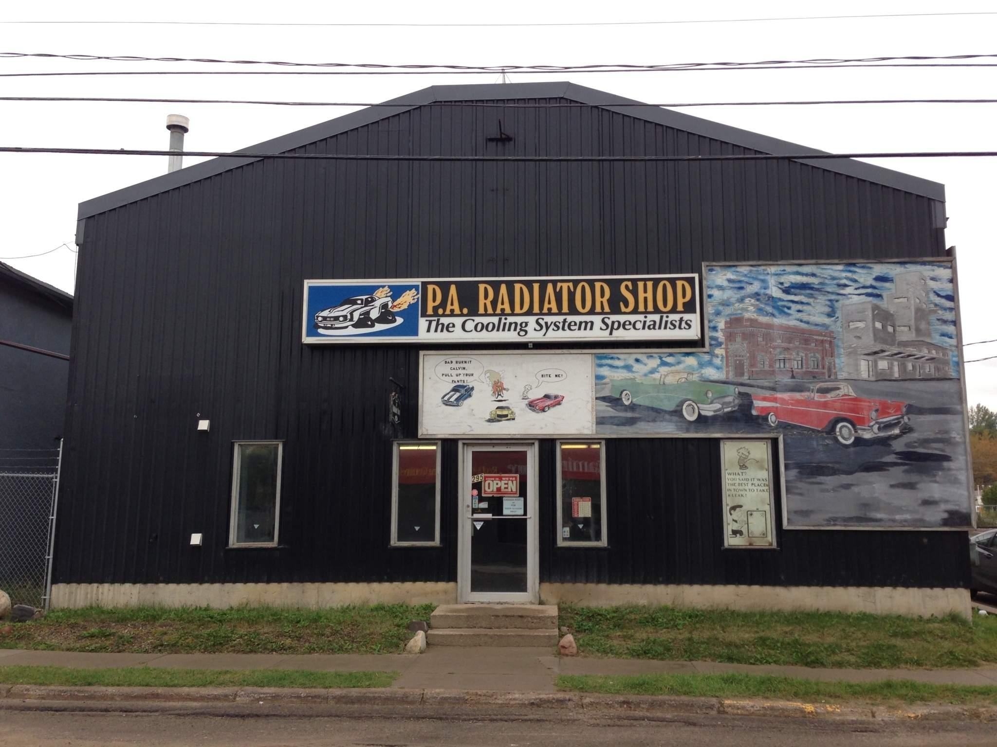 P A Radiator Shop in Prince Albert