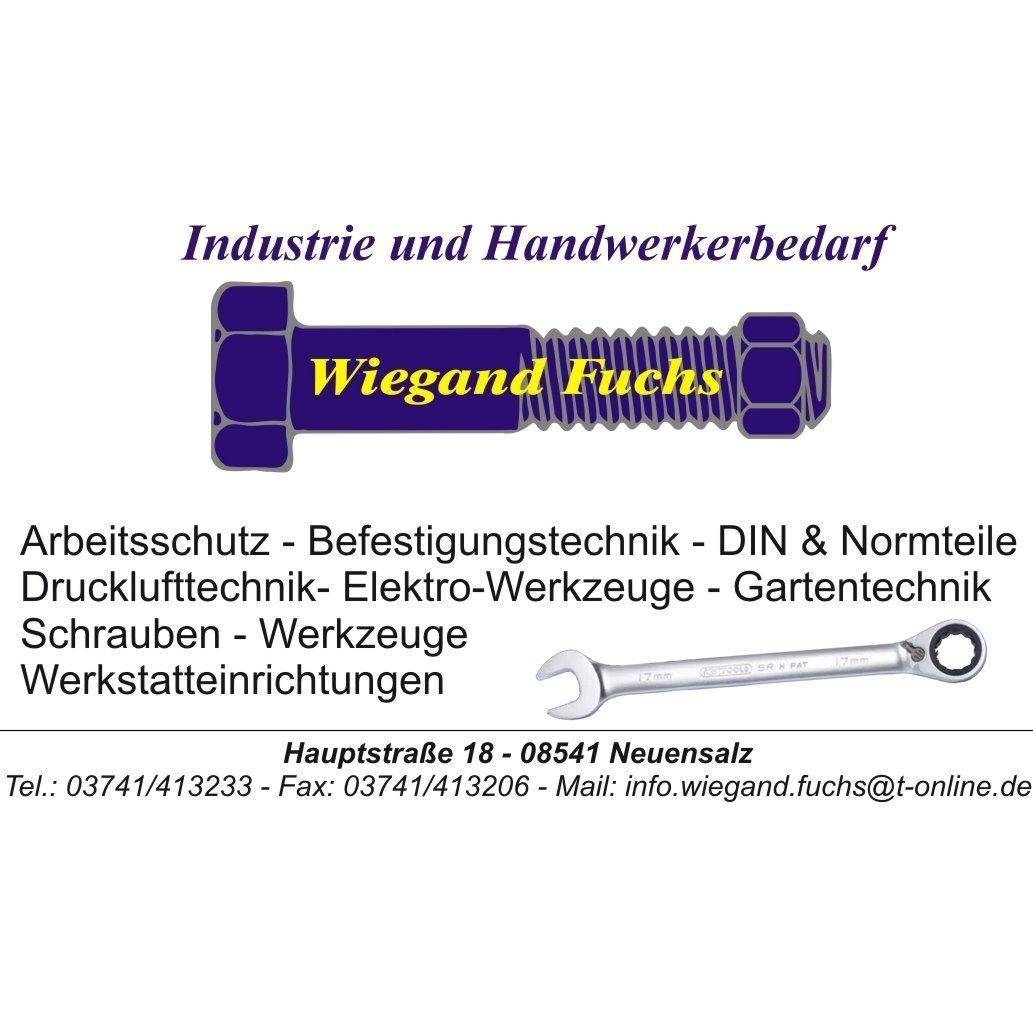 Logo von Wiegand Fuchs Industrie- und Handwerkerbedarf