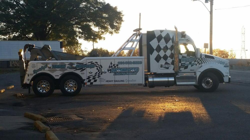 Tow trucks can look good too!