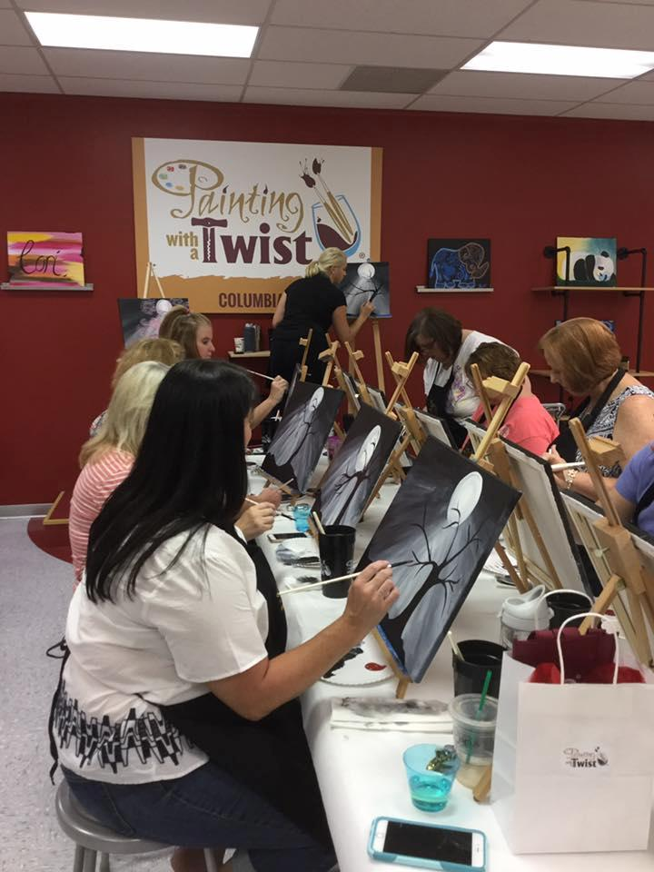 painting with a twist craft store columbia sc 29212