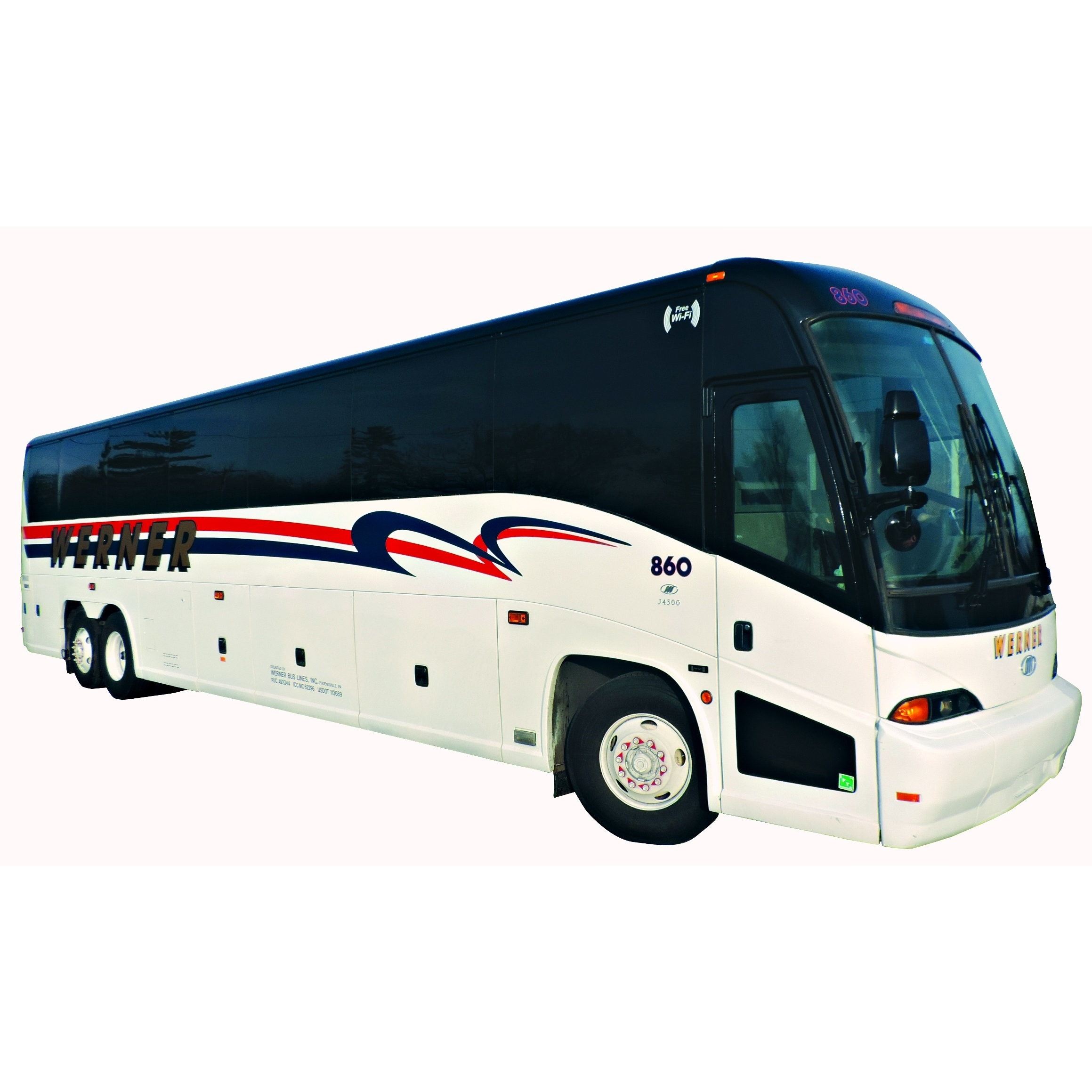 Werner Coach - Phoenixville, PA - Buses & Trains