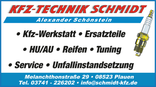 Bild der Alexander Schönstein Kfz-Technik Schmidt