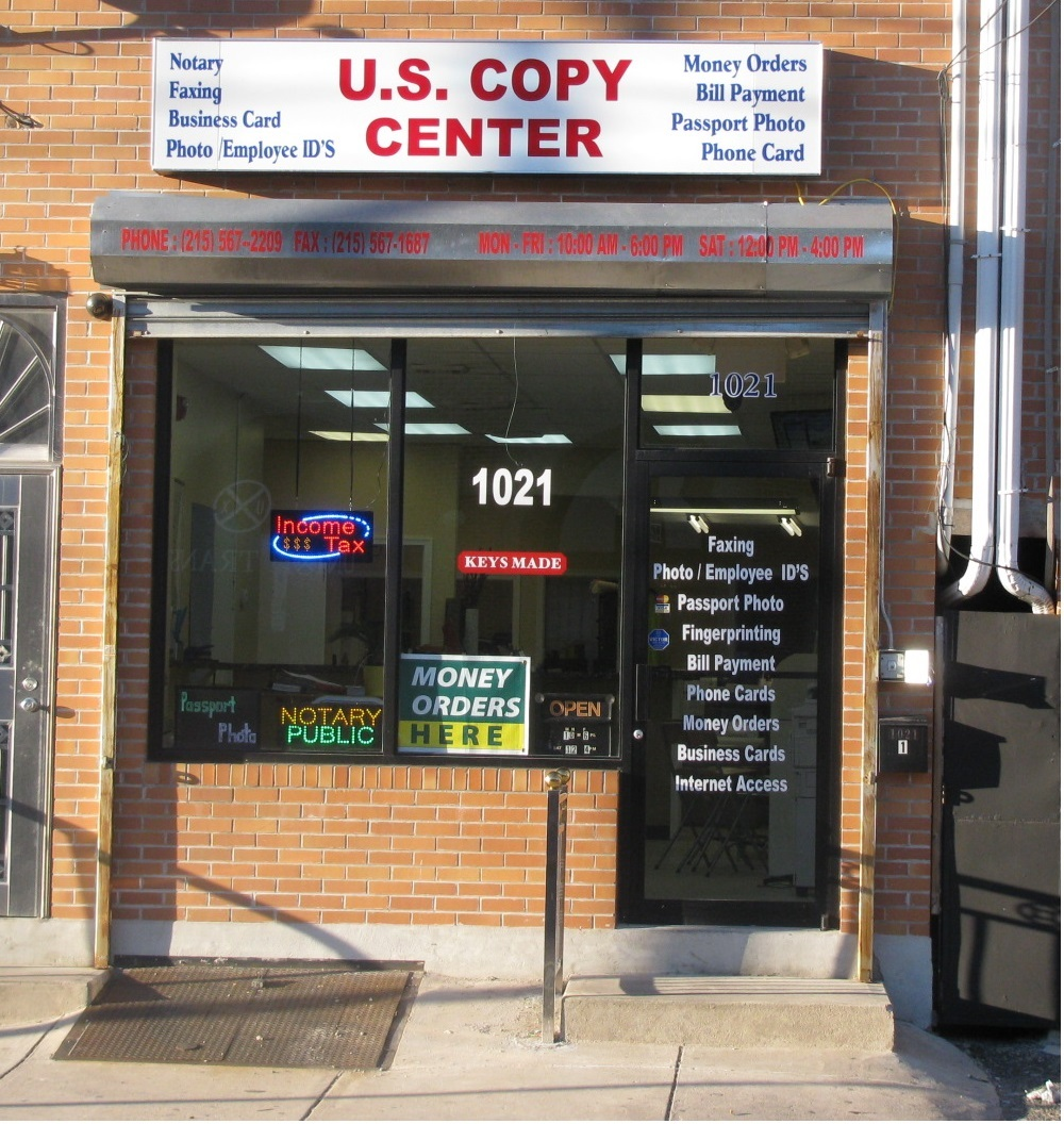 U  S Copy Center - ad image