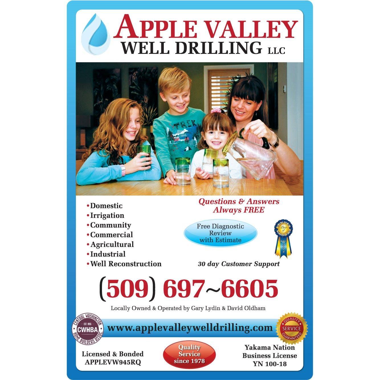 Apple Valley Well Drilling Inc