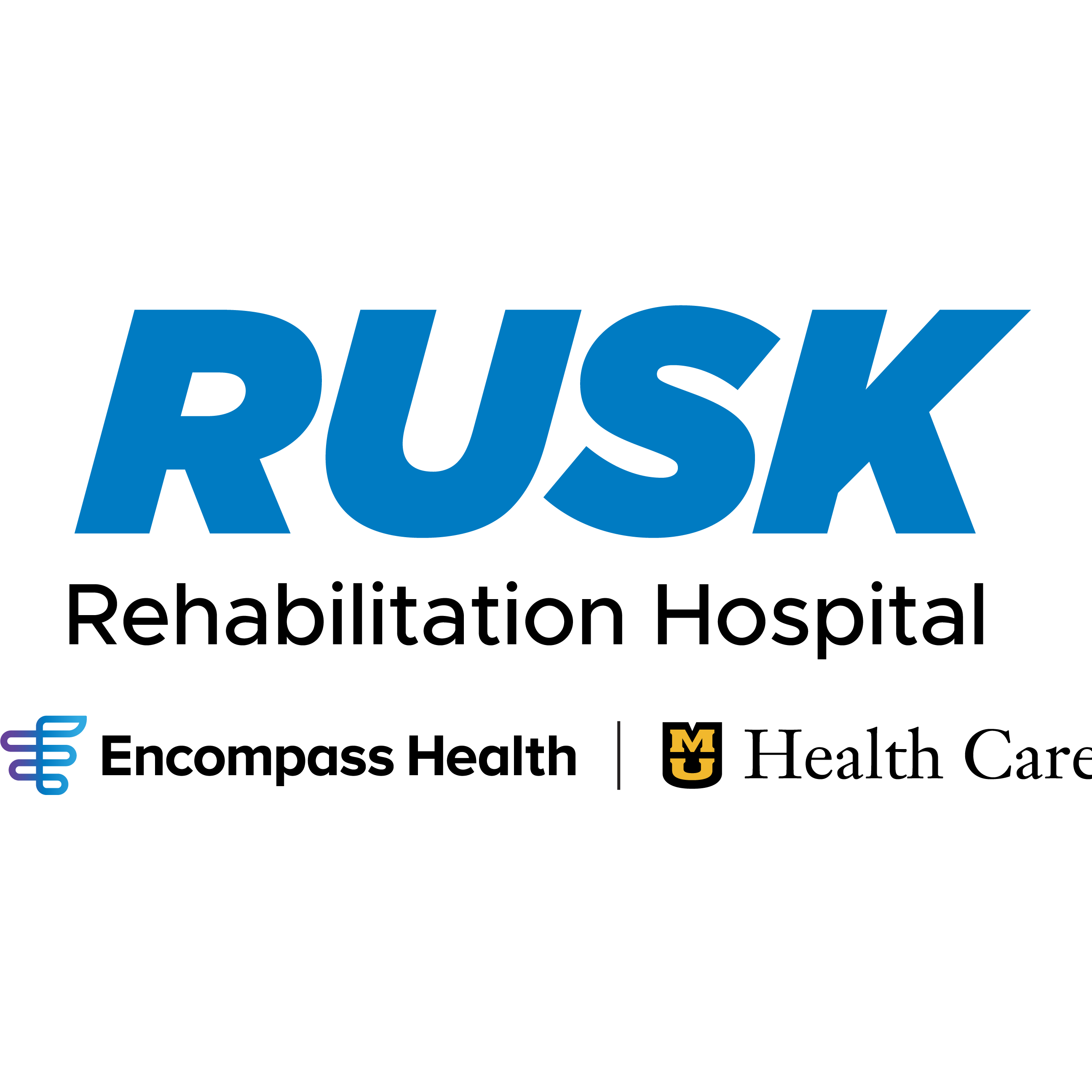 Rusk Rehabilitation Hospital, an affiliation of Encompass Health and MU Health Care