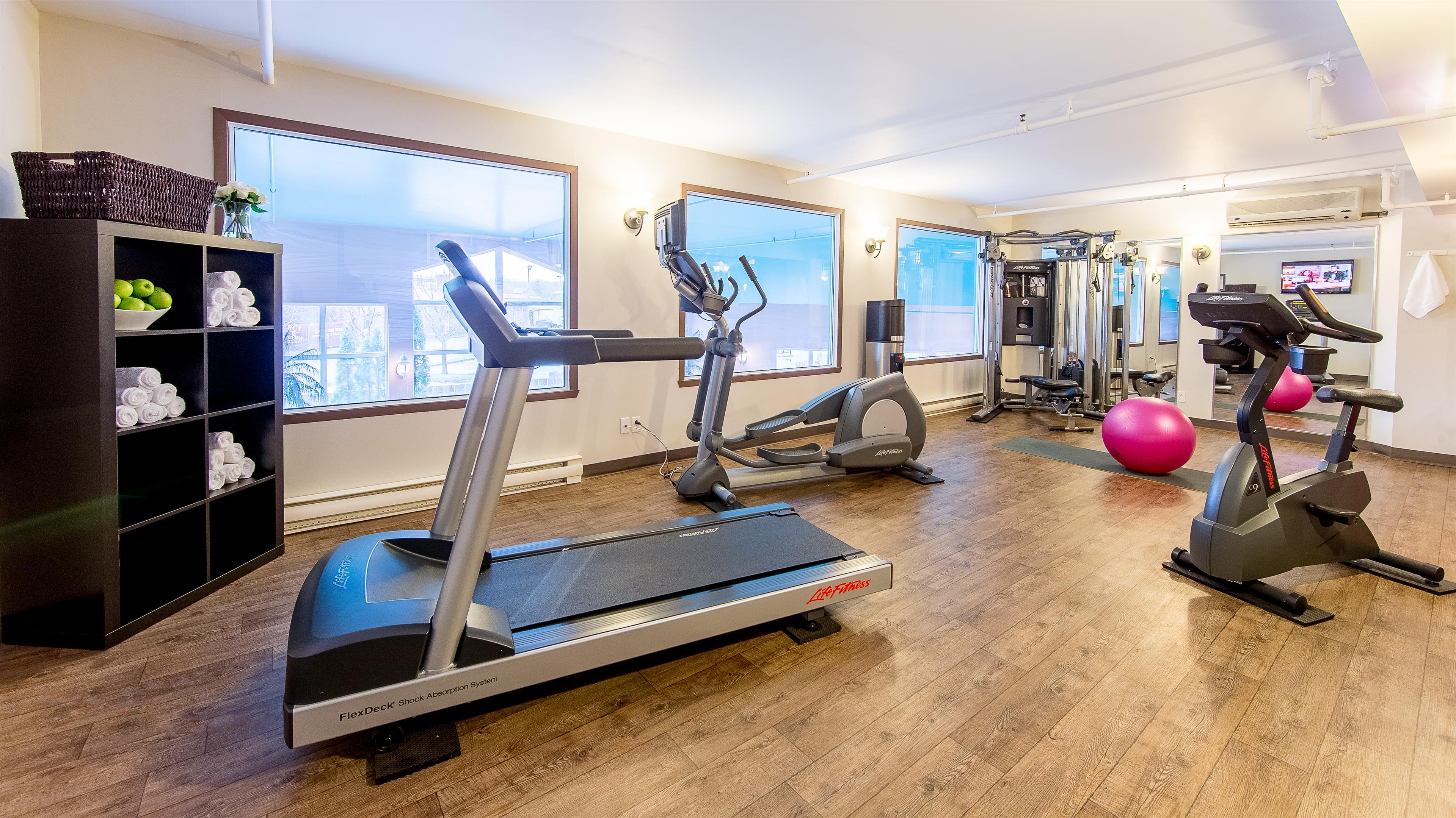 Best Western Hotel Brossard à Brossard: Fitness Center