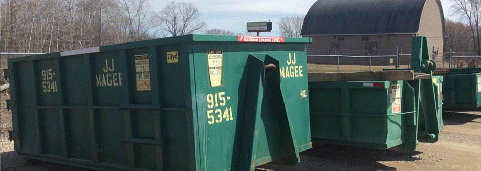 J.J. Magee Dumpsters image 1