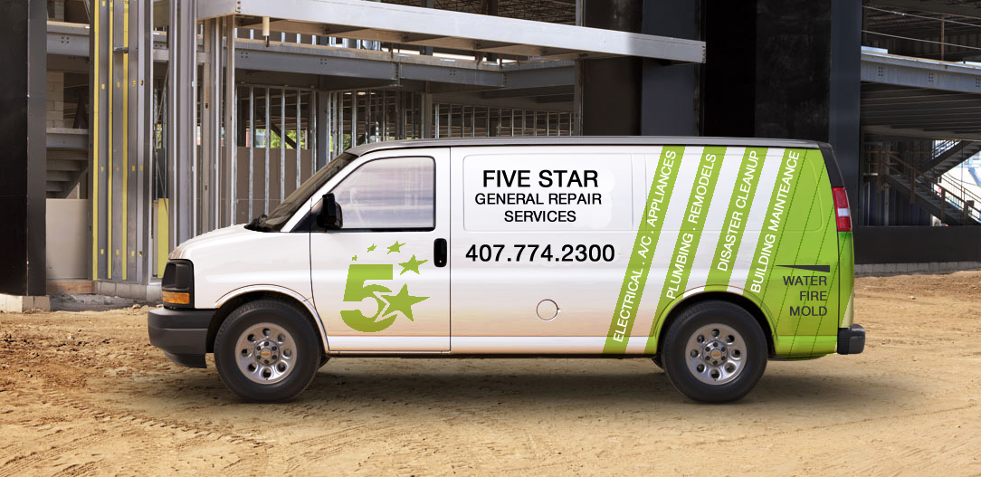 Five Star GENERAL REPAIR SERVICES - ad image