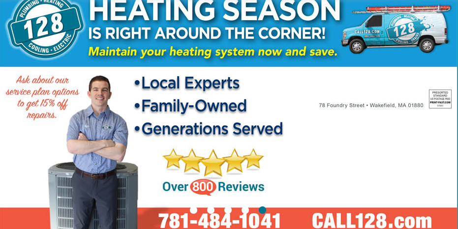 128 Plumbing, Heating, Cooling & Electric image 0